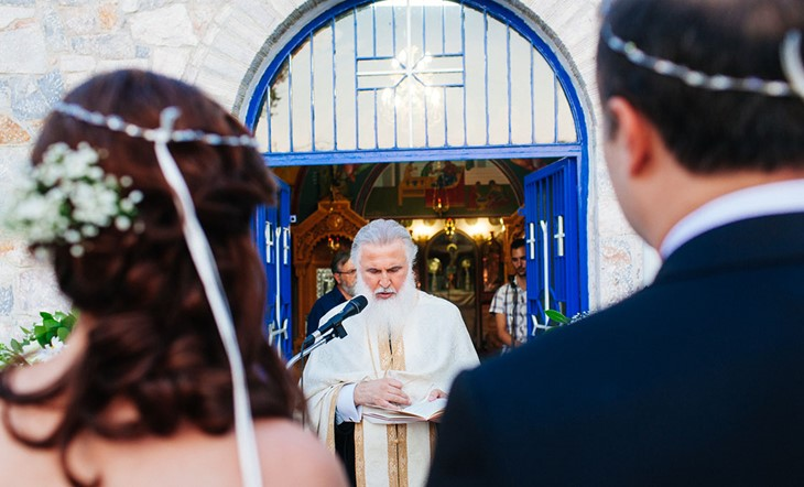Закинфос, Венчание в церкви, Венчание в церкви на острове Закинф