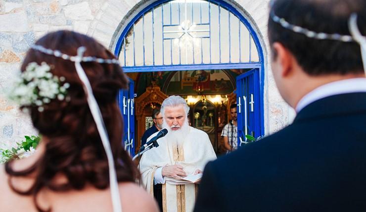 Венчание в церкви на острове Закинф