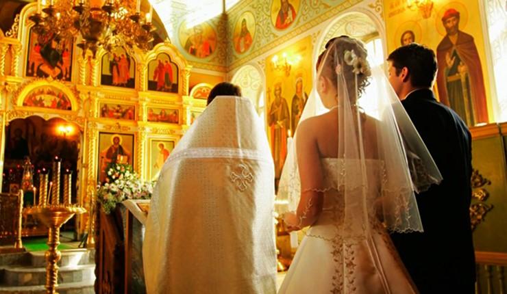 Венчание в церкви Св. Мавры