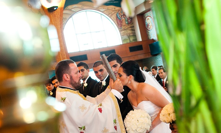Корфу, Венчание в церкви, Венчание в церкви на Корфу