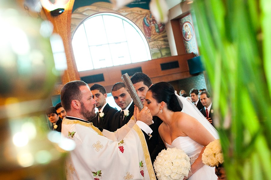A church wedding on Corfu