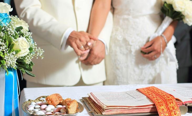 Миконос, Венчание в церкви, Венчание в церкви на Миконосе