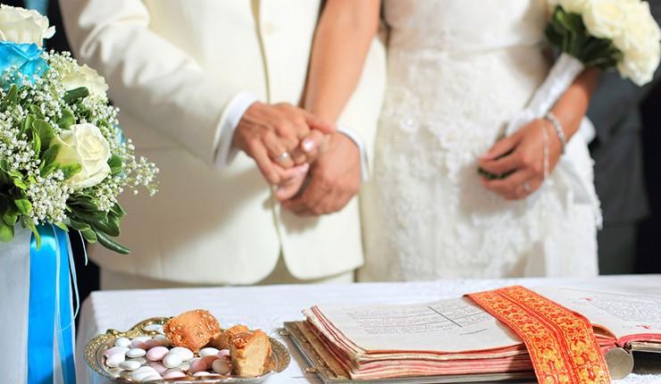 Венчание в церкви на Миконосе