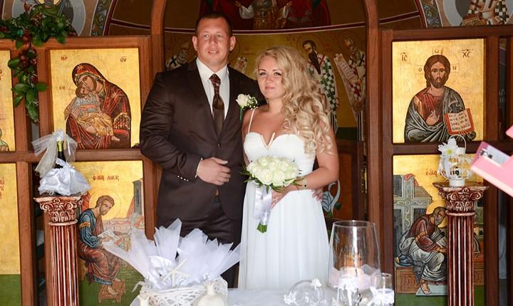 Венчание в храме Филеримской Богородицы