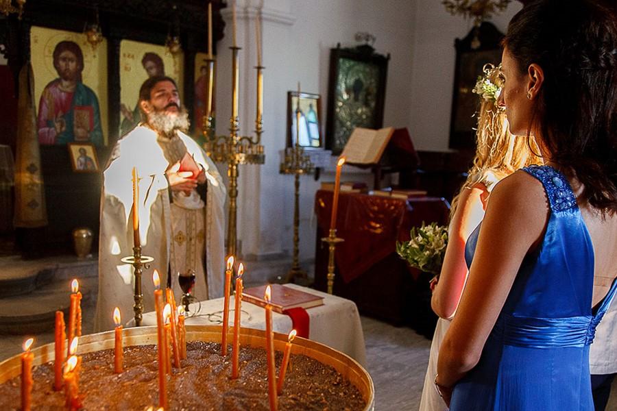 Венчание в кафедральном соборе Сретения Господня