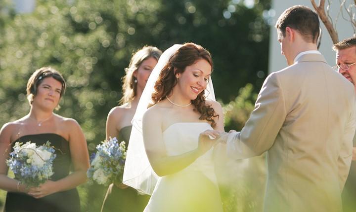 A civil wedding on Peloponnese peninsula