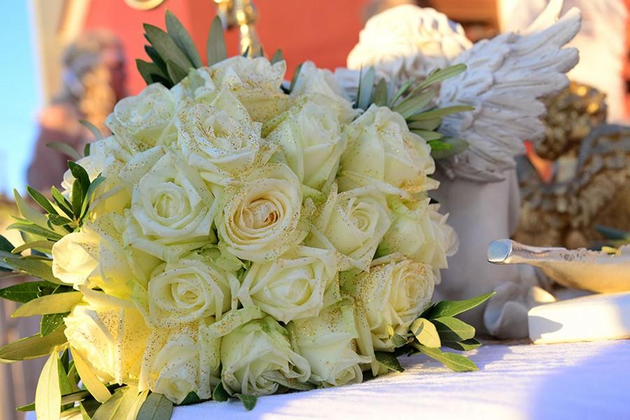A civil wedding in the hotel on Crete