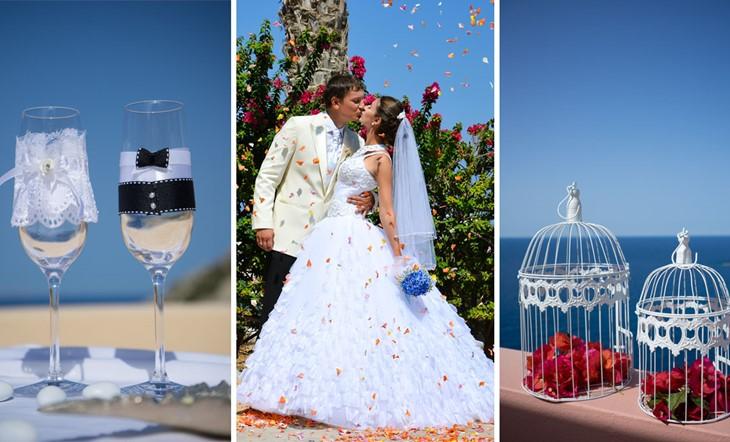 Миконос, Символическая церемония, Свадьба у моря на Миконосе