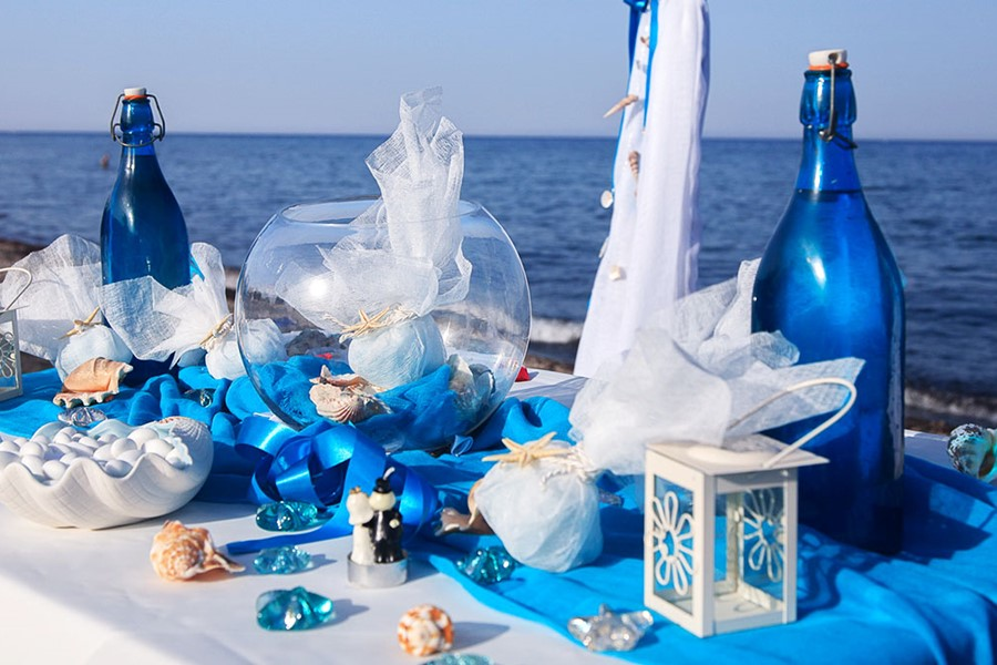 A wedding on a yacht on Halkidiki