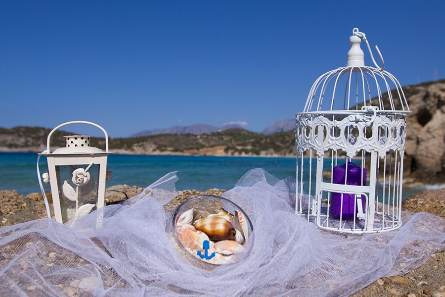 A luxury wedding at the seaside on Halkidiki