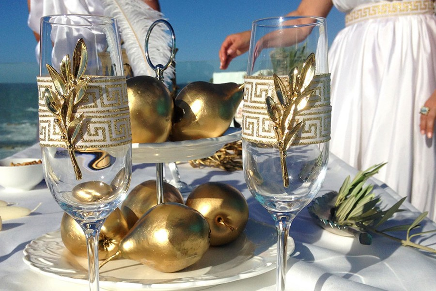 A touch to the ancient Greece on Mykonos