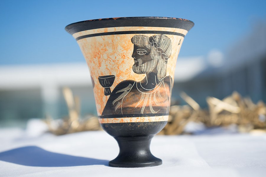 A touch to the ancient Greece on Corfu