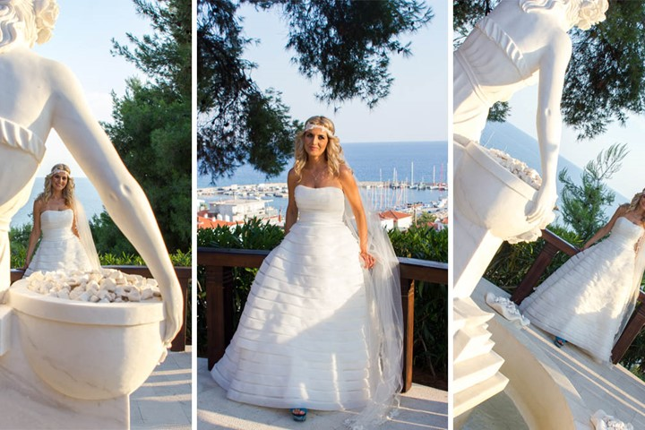 Symbolic wedding in the Rahoni Cronwell Park Hotel, Halkidiki