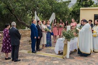 Православное венчание Ирины и Александра на Крите