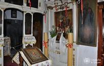 Corfu, Orthodox  ceremony, Vlaherna Monastery