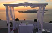 Santorini, Symbolic  ceremony, Villa Irini