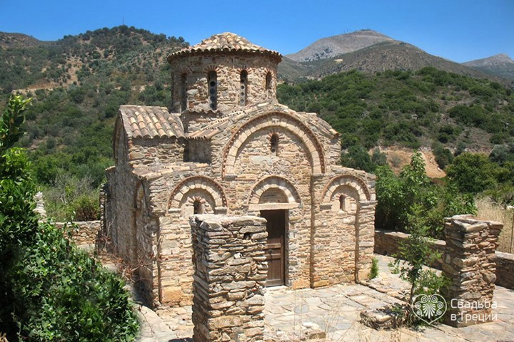 Church in Fodele Village, Crete