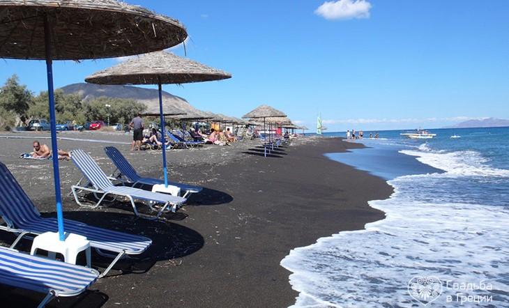Пляж Perissa
