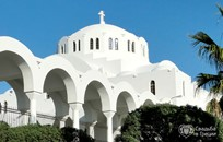 Santorini, Orthodox  ceremony, Cathedral of the Presentation of the Lord
