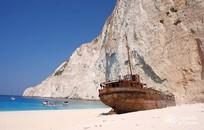 Zakynthos, Symbolic  ceremony, Navagio beach