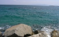 Халкидики, Символическая церемония, Пляж Ouranoupoli