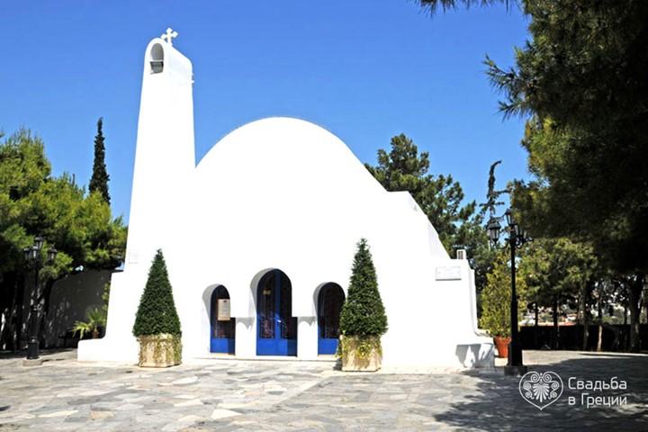 Церковь Св. Георгия в Кавоури , Аттика
