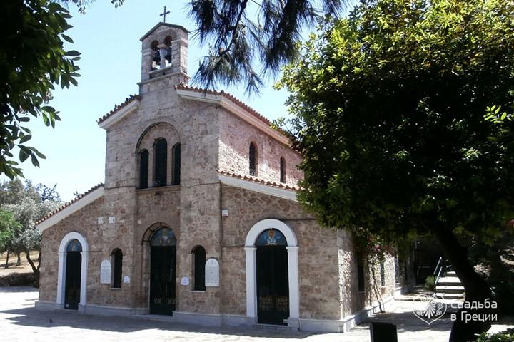 Церковь Св. Фотини, Аттика