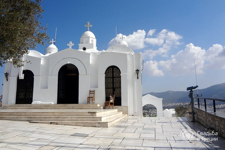 Church of Agios Georgios on Mount Lycabettus