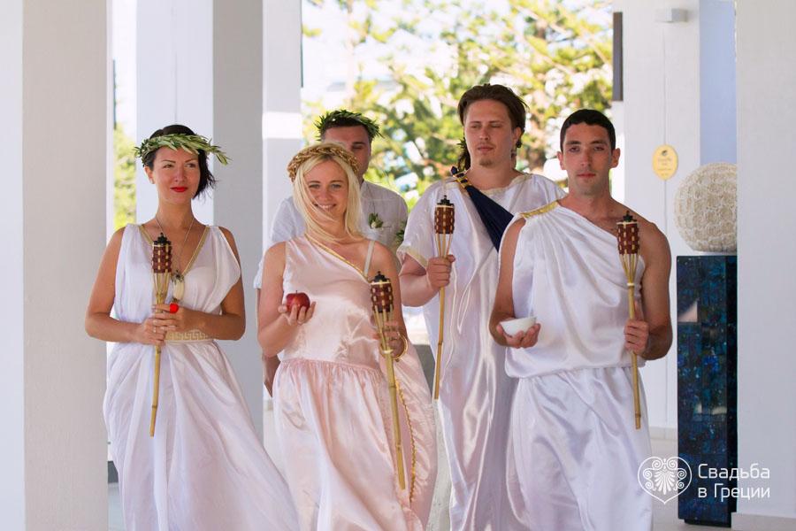 поздравление в стиле древней греции нашей